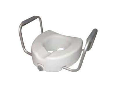 Rialzo per wc con braccioli amovibili mediland - Rialzo per bagno ...